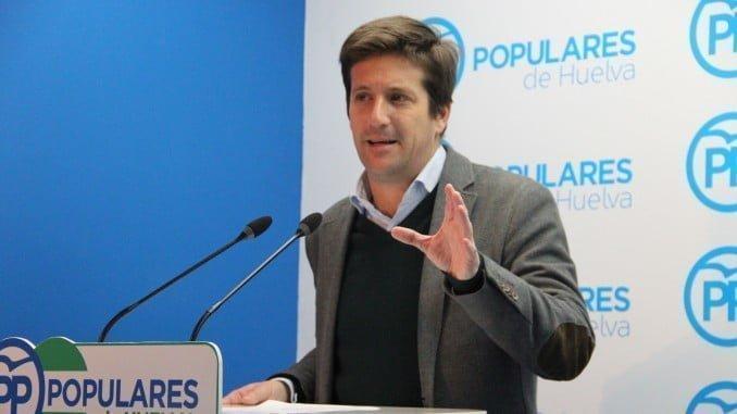 El parlamentario onubense Guillermo García Longoria