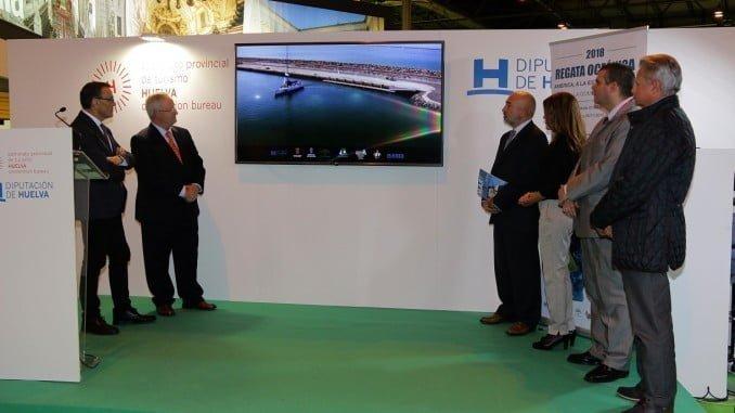 Presentación en Fitur de la Regata Oceánica Huelva-La Gomera-Cuba