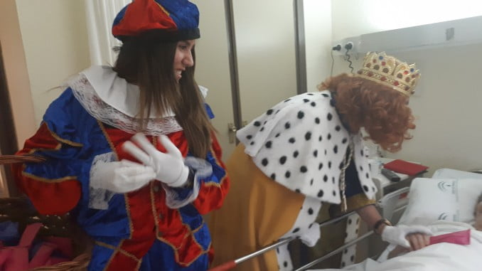 Los Magos de Oriente visitan el Infanta Elena