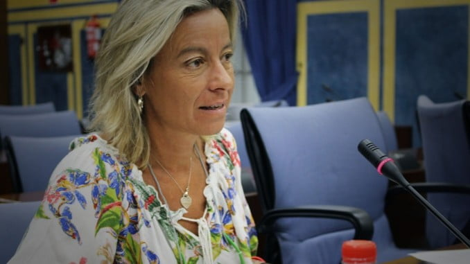 La portavoz de Salud de Cs en el parlamento andaluz, Isabel Albás