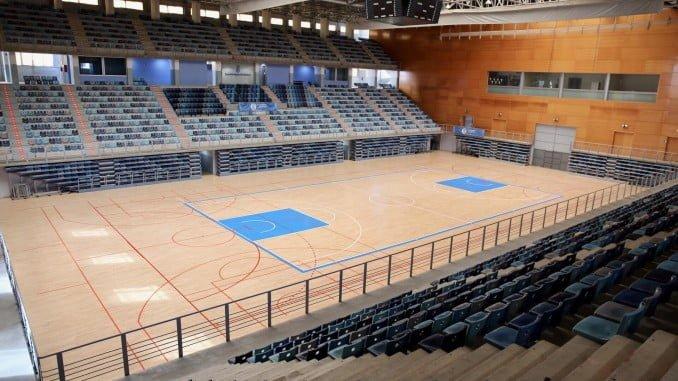 Terminan los trabajos de acondicionamiento del Palacio de Deportes Carolina Marín