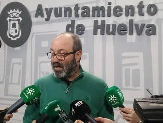 Pedro Jiménez, portavoz de IU en el Ayuntamiento de Huelva