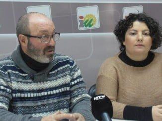 Pedro Jimenez y Rosa Villa en rueda de prensa