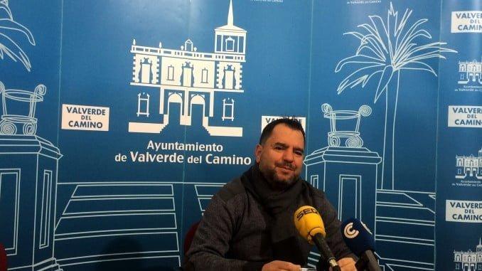 Domingo Doblado Vera, portavoz del Grupo Popular en el Ayuntamiento de Valverde