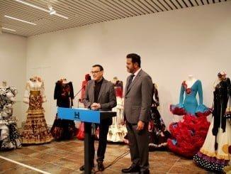 """Caraballo dice que la participación de la Diputación de Huelva por primera vez y en esta edición de SIMOF supone """"ofrecer a estos diseñadores y diseñadoras de la provincia un escaparate de primera línea"""""""