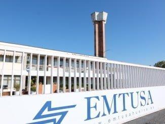 Sede de la Empresa Municipal de Transporte Urbano, Emtusa