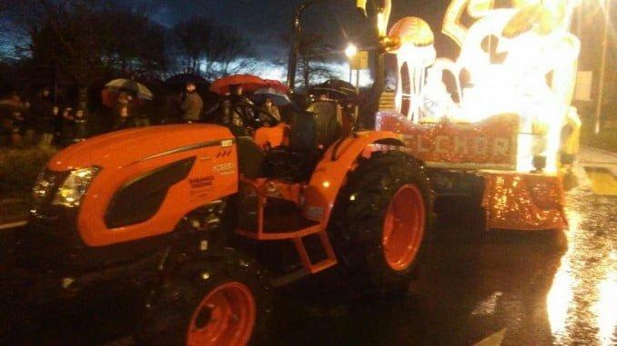 Un hombre ha sido atropellado por un tractor de la Cabalgata de Gibraleón