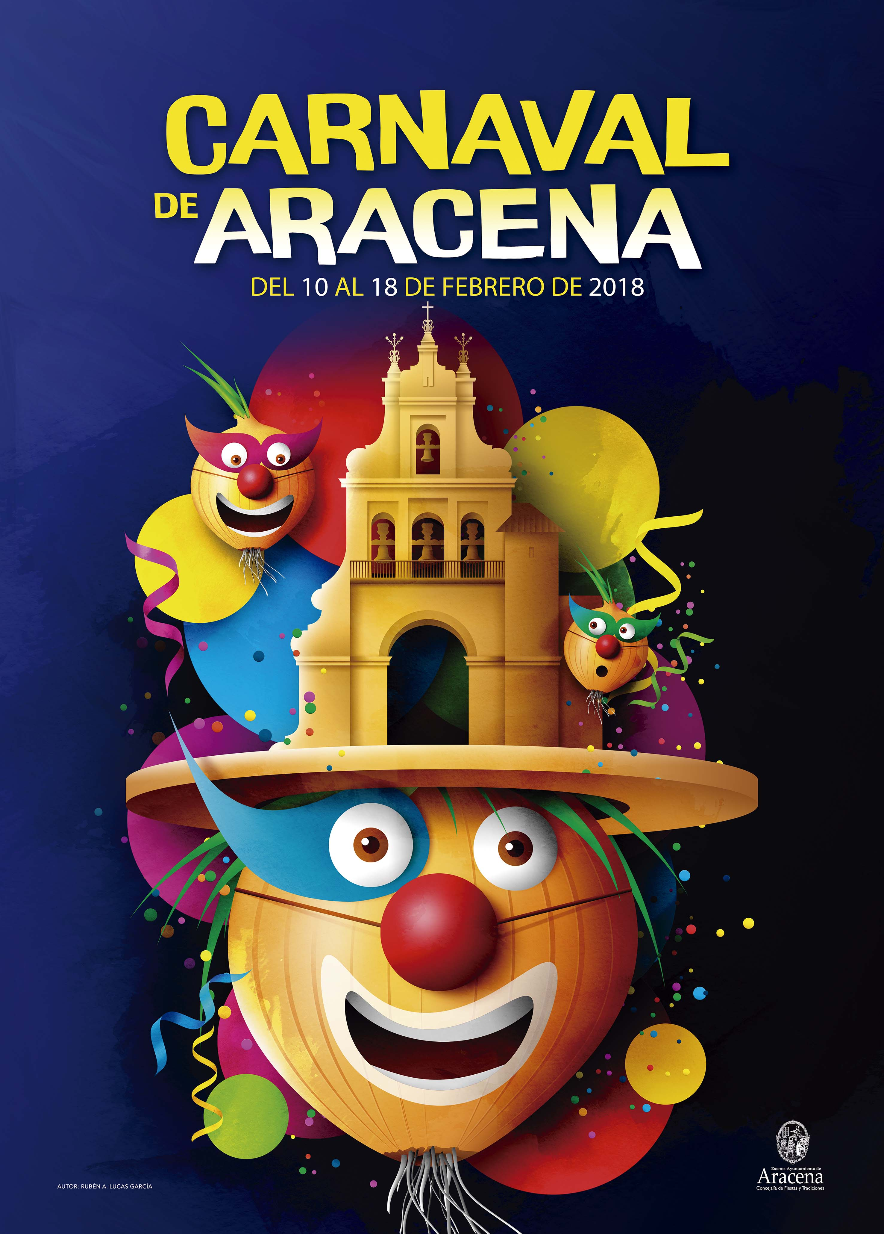 Cartel del Carnaval de Aracena 2018