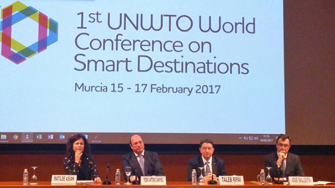 Apertura del I Congreso Mundial de Destinos Turísticos Inteligentes organizado en Murcia