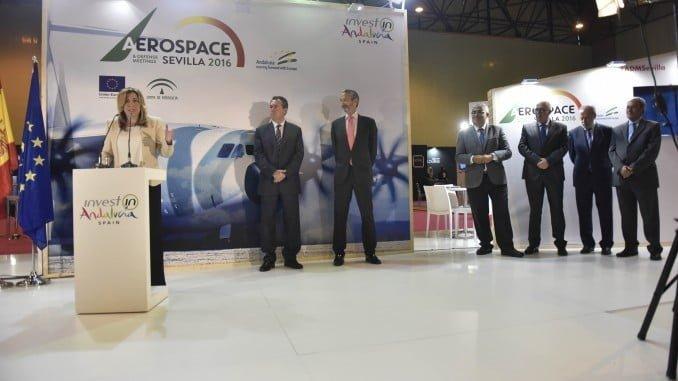 Imagen retrospectiva de la III Aerospace Defense Meetings, celebrada en Sevilla en 2016