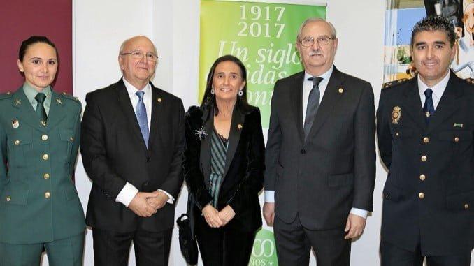 Grávalos junto al presidente del Colegio de Médicos y los interlocutores territoriales sanitarios