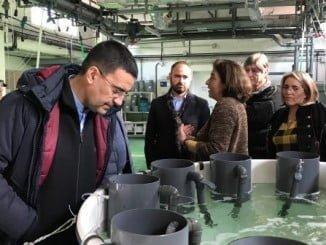 Mario Jiménez visita las instalaciones del Ifapa 'Agua del Pino' en Cartaya