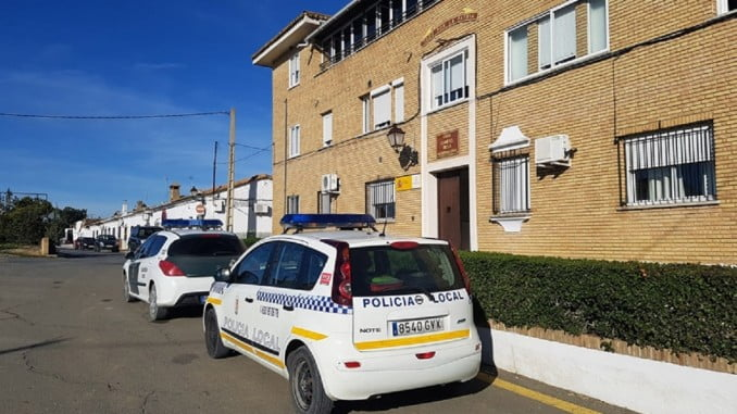 Policía Local de Beas y Guardia Civil han colaborado conjuntamente en la búsqueda del individuo