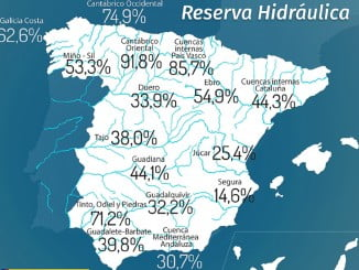 Las precipitaciones han sido abundantes en toda la Península y se ha notado en algunas cuencas