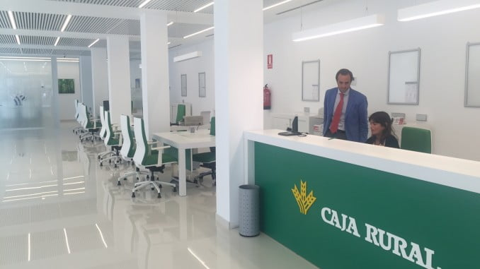 Una de las oficinas de Caja Rural del Sur que se ha adaptado al modelo de QSosteniblel.
