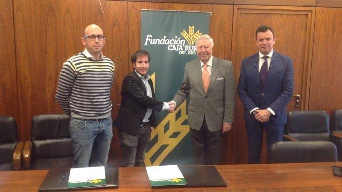 Fundación Caja Rural del Sur colabora en los Premios de Jóvenes Empresarios de Huelva.