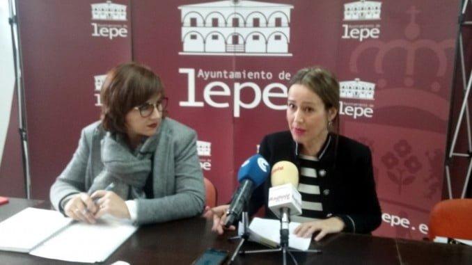 Bella Verano y Conchi del Valle explicaron en rueda de prensa los pormenores de la subvención