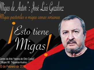 Cartel anunciador de la Migas hortelanas de este sábado