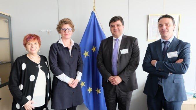 El alcalde inicia en Bruselas una ronda de reuniones con representantes de las instituciones europeas