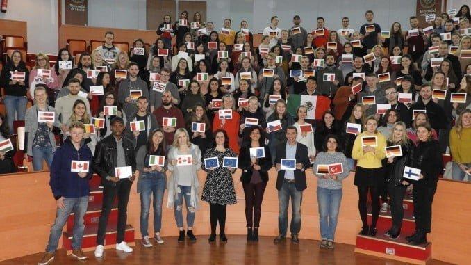 Los estudiantes erasmus provienen de 36 países
