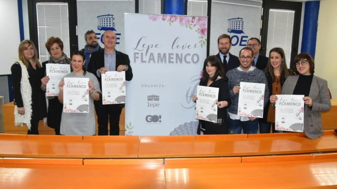 Presentado en la FOE el evento Lepe Loves Flamenco