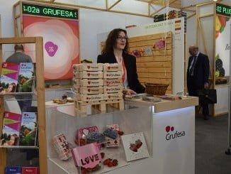 Stand de Grufesa en Fruit Logística