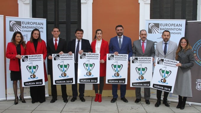 La Casa Colón ha acogido la presentación del Campeonato Europeo de Bádminton, que ha contado con la presencia de la campeona Carolina Marín