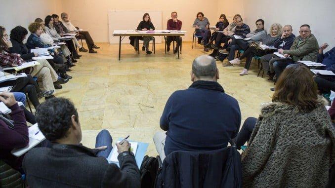 Reunión del Ayuntamiento sobre el procedimiento de tramitación de Renta Mínima de Inserción Social