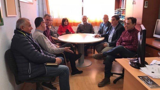 El delegado de Educación ha visitado el Ceip Diego Macías