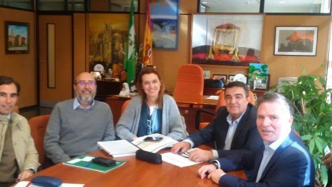 Reunión AECO con el representante de Educación en Huelva
