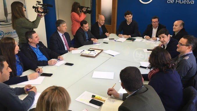 Reunión del Comité de Alcaldes del PP