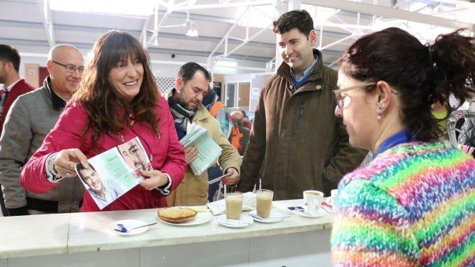 Loles Lopez presenta en Valverde la campaña del PP sobre empleo