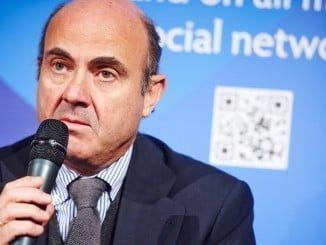 Luis de Guindos asumirá la vicepresidencia del Banco Central Europeo
