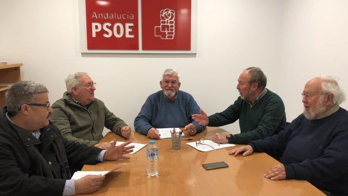 Reunión de los veternaos del PSOE de Huelva