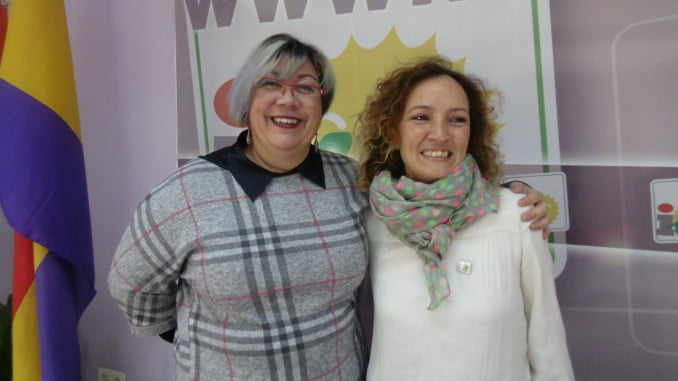 Monica Rossi y Silvia Zambrano