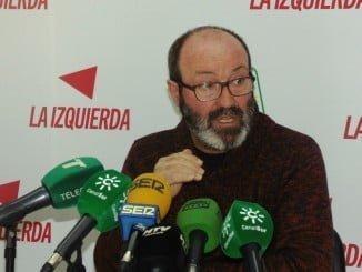 Pedro Jiménez, presidente del Grupo Municipal de IU en Ayuntamiento de Huelva