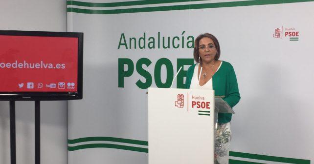 """La diputada nacional, Pepa González Bayo, critica que """"no exista una dotación fija de ningún Cuerpo de Seguridad del Estado que se encargue de la vigilancia en las fincas agrícolas"""""""