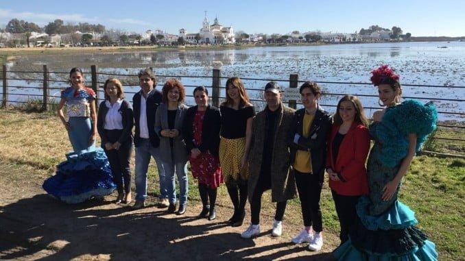 La presentación de D'Flamenca ha tenido lugar a orillas de las marismas de Doñana
