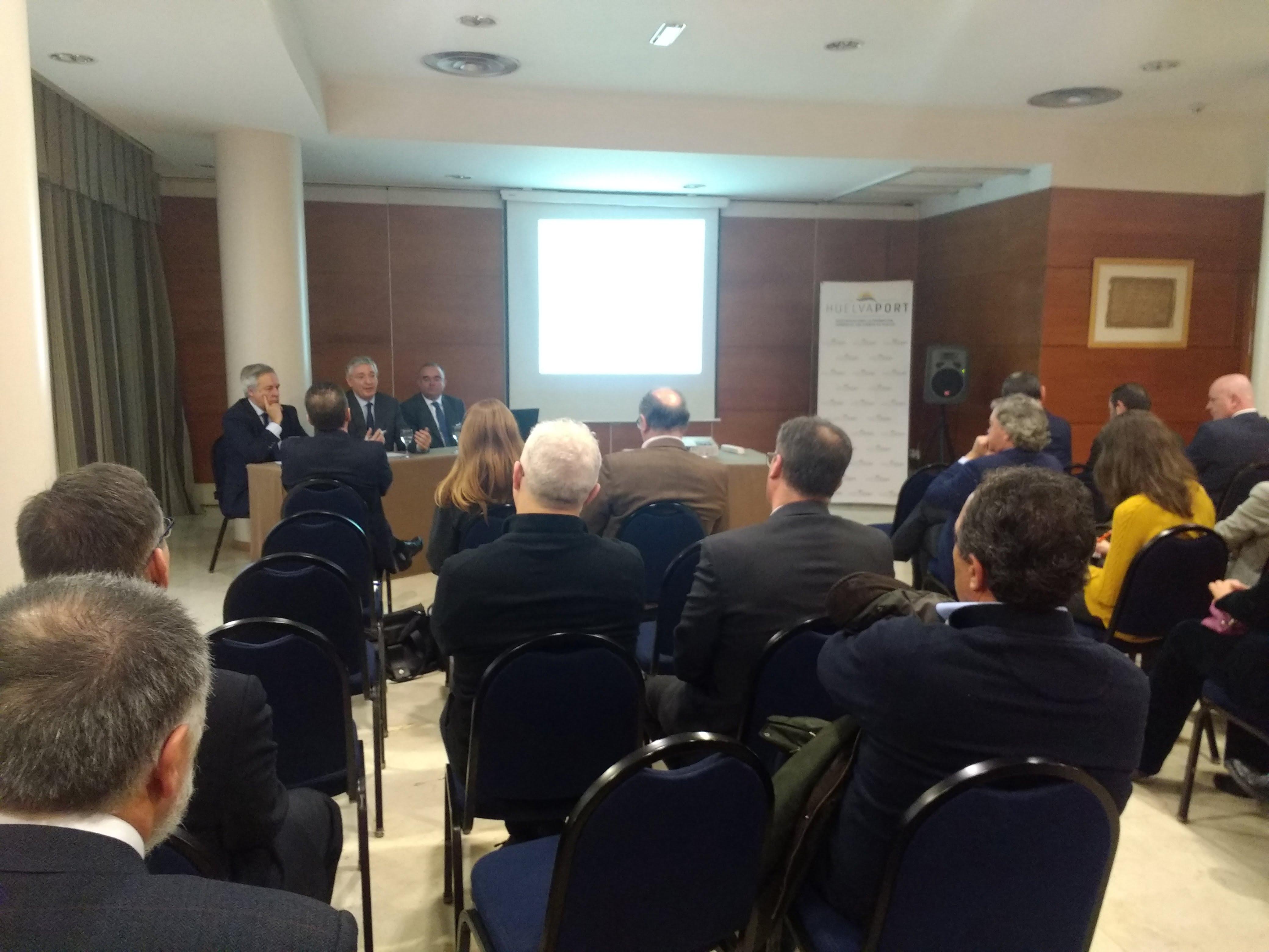 Presentación del Puerto de Huelva en Coslada