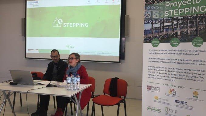 Reunión informativa sobre el proyecto STEPPING