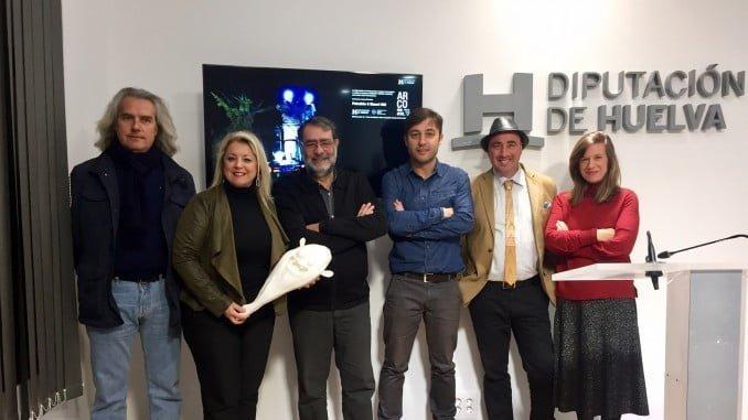 La presentación de Huelva en ARCO ha contado con la presencia de Joan Fontcuberta