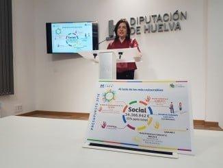 La diputada de Bienestar Social, Aurora Vélez, presenta los presupuestos de su departamento