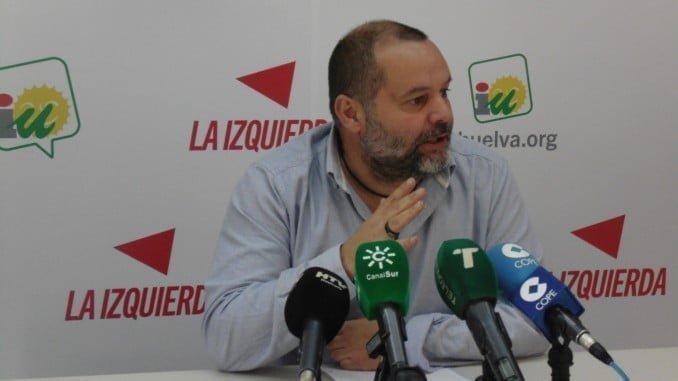 Rafael Sánchez Rufo, coordinador provincial de IU Huelva