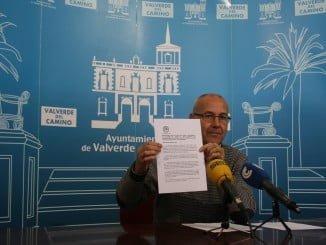 Rueda de prensa para presentar la moción del Grupo Popular