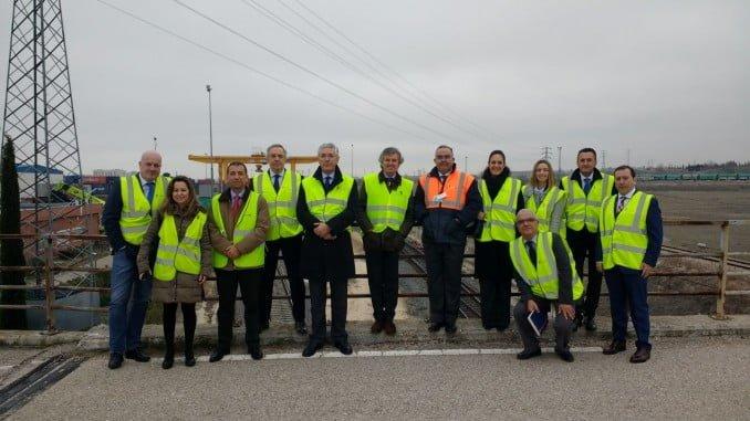 Visita de HuelvaPort al Puerto de Coslada (Madrid)