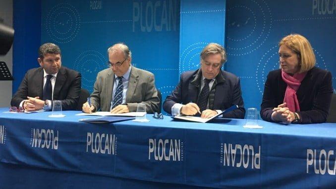 Alberto López Asenjo ha visitado hoy las instalaciones de la Plataforma Oceánica de Canarias (PLOCAN) y ha tenido la oportunidad de participar en su Consejo Asesor Socioeconómico