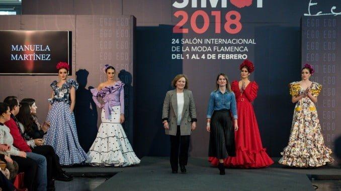 La moda flamenca onubense, protagonista en Simof 2018