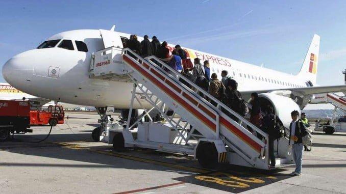 En diciembre del 2017 el transporte  aéreo crece un 16,0%