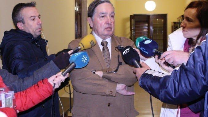 Enrique Figueroa, concejal no adscrito en el Ayuntamiento de Huelva