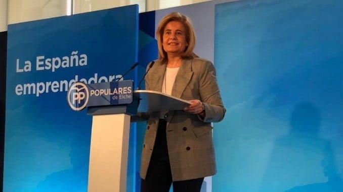 Báñez en una convención del PP sobre pymes y autónomos en Elche (Alicante)